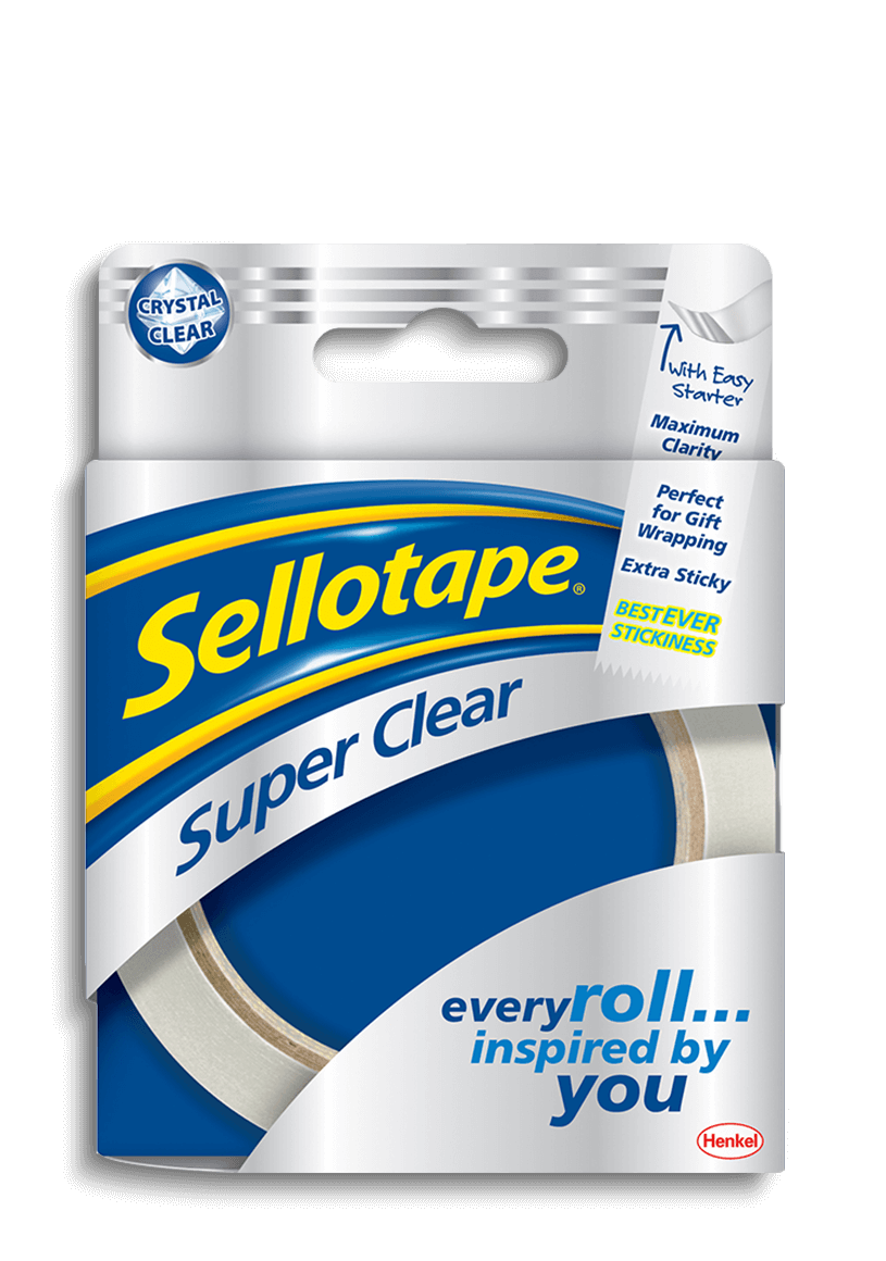 Sellotape - Super Clear Roll